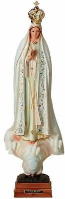 Our Lady of Fatima Blessed Virgin Mary 20 Inch Statue