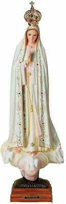 Our Lady of Fatima Blessed Virgin Mary 24 Inch Statue