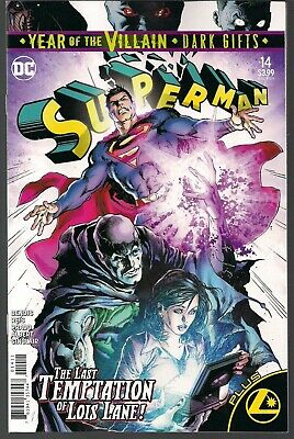 Superman #14 Dc 2019 Recalled Year Of The Villain Regular Cover House Of El Nm