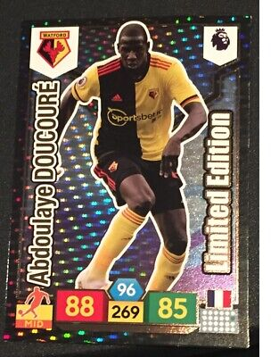Panini Adrenalyn 2019/20 Premier League Abdoulaye Doucoure Limited Edition card