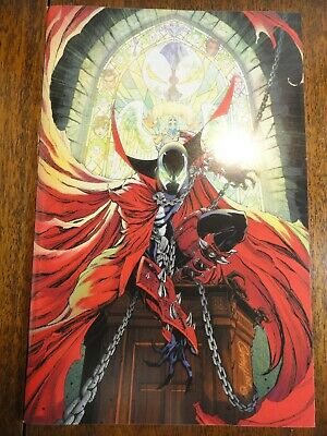 Spawn #300 Cool J Scott Campbell Color Virgin Variant Cover NM New Image Key