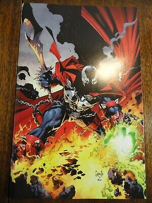 Spawn #300 McFarlane Greg Capullo Color Virgin Variant Cover NM New Image Key