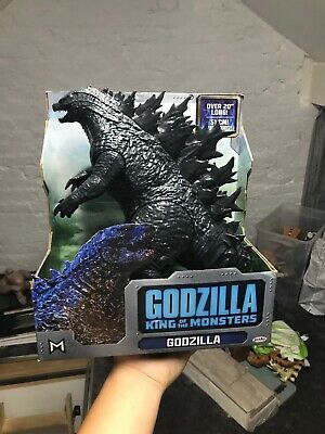 "Jakks Godzilla King Of The Monsters 20"" Long Articulated Movie Figure NEW 30cm"