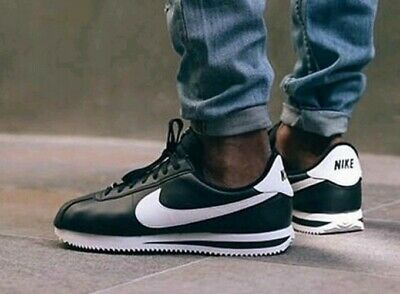 Nike Men's Cortez Basic Leather Athletic Sneakers Running Training Shoes