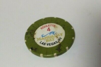 Mandalay Bay Hotel Casino Las Vegas Roulette Chip 4