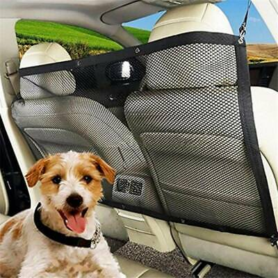 Pet Dog Cat Car Van Safety Isolation Net Guard Front Back Seat Barrier Mesh Tool