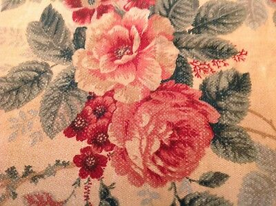 Vintage Flowers And Berries Summer/Fall Tablecloth F. Schumacher & Co.