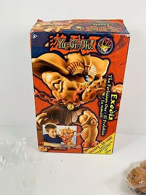 """Deluxe Exodia 13"""" Model Kit Mattel Figure Forbidden One With Box parts sealed"""