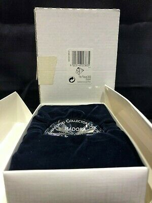 Swarovski Plaque For 2002 Annual Edition - Isadora 602383 Complete With Box