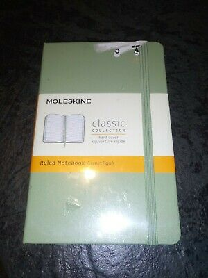 New Moleskine Classic Hard Cover Ruled Notebook