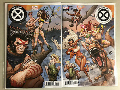 House Of X 5/Powers Of X 5 Nakayama Connecting Variant X-Men 2 Book Lot NM/NM-
