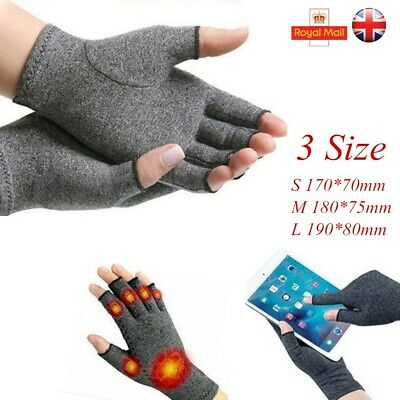 Finger Pain Relief Anti Arthritis Gloves Hand Support Compression Therapy 3 Size