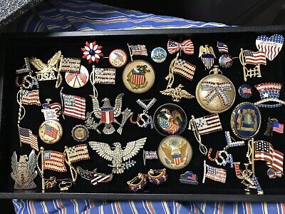 Collection Antique And Vintage Patriotic Items