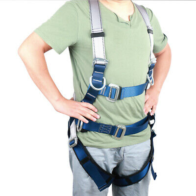 Full Body Harness for Construction Roofing Scaffolding Fall Arrest System Rescue