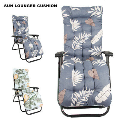 Magnificent Outdoor Garden Replacement Recliner Sun Lounger Cushion Dailytribune Chair Design For Home Dailytribuneorg