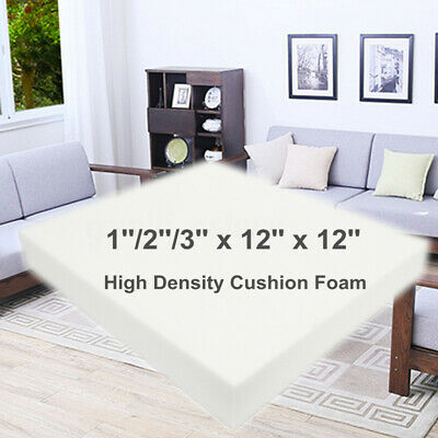 12'' Square High Density Seat Foam Cushion Sheet Upholstery Replacement G
