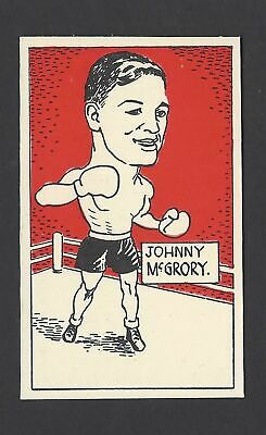 CUMMINGS - FAMOUS FIGHTERS (BOXING) - #59 JOHNNY McGRORY