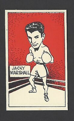 Cummings - Famous Fighters (Boxing) - #26 Jacky Marshall