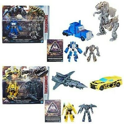C2963 TRANSFORMERS THE LAST KNIGHT PREMIER EDITION STRAFE DINOBOT GUERRIERO 8