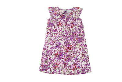 United Colors of Benetton Girls Purple Long Sleeve Dress 9-12M//12-18M//18-24M//3//4