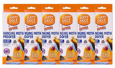 Zensect Halloween Special Bundle of 6 Hanging Moth Proofer Boxes - 24 in Total