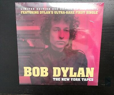 Bob Dylan - The New York Tapes - Lp Red Vynil Limited Edition 500 Copies - New