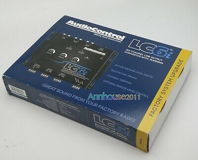 AudioControl LC6i - 6 Channel Line Output Converter AUDIO STEREO SPEAKER CONTROL