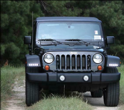 2007-2017 Jeep Wrangler LED Daytime Running Lights Kit 260-1024-JEEP DAYLIGHT