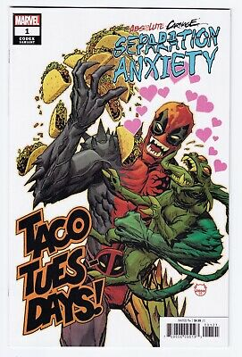 Absolute Carnage Separation Anxiety #1 Dave Johnson 1:25 Codex Variant Nm