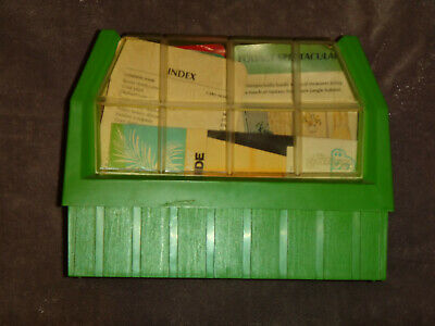 The Greenhouse House Plant Care Index Card Collection 1978 Western Publishing Co