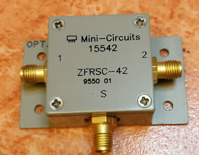 Mini-Circuits ZFRSC-42 Resistive Power Splitter/Combiner with mounting brackets