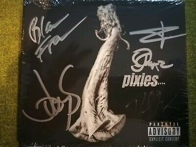 Pixies Beneath The Eyrie Signed CD Autograph