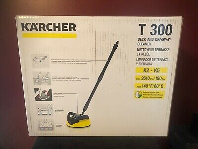 Karcher Pressure Washer T300 Deck and Driveway Cleaner NEW