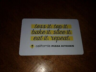 $25 California Pizza Kitchen Physical Gift Card
