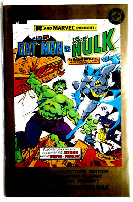 BATMAN  VS. THE INCREDIBLE HULK:  May 1995, DC/Marvel Comics.  NM.  Unread.