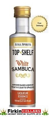 Still Spirits Top Shelf White Sambuca Liqueur Home Brew Spirit Flavour Essence