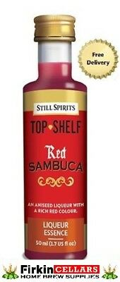 Still Spirits Top Shelf Red Sambuca Liqueur Home Brew Spirit Flavour Essence