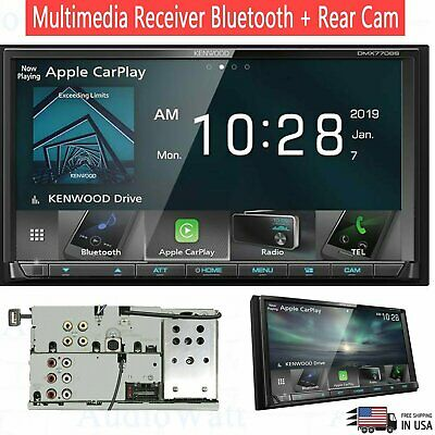 """Kenwood 6.95"""" double  2 DIN Multimedia Receiver Android Apple CarPlay Bluetooth"""