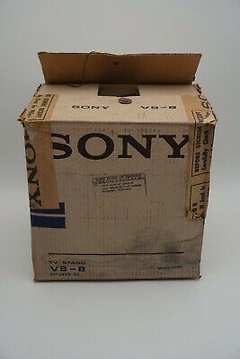 RARE Vintage Sony VS-8 TV Stand New In Box 93-7579-00