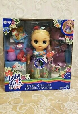 Baby Alive Once Upon a Baby Forest Emma Very Hard to Find NEW in Package  !