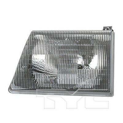 Fits 1997 - 2000 Ford E - 350 Econoline Headlight Assembly Driver Side -