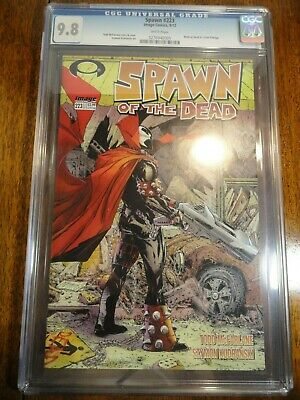Spawn #223 Todd McFarlane CGC 9.8 NM/M Walking Dead #1 Homage Cover Key Image