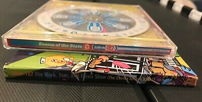 Lot of 2 Blink 182 CD's Enema of the State & The Enema Strikes Back pre-owned