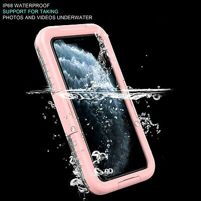 For Apple iPhone 11 Pro Max X Waterproof Case Cover w/ Built-in Screen Protector