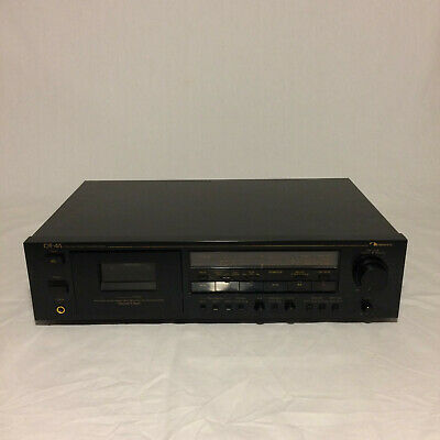 Nakamichi CR4A Cassette Tape Deck Tested