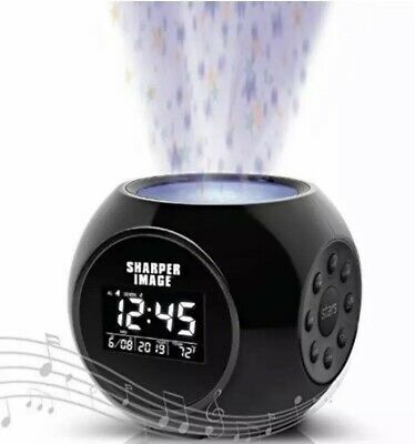 Sharper Image Sound Machine Projection Alarm Clock - Stars ✨ NEW IN BOX