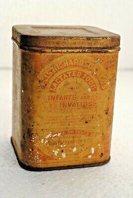 Antique LACTATED FOOD FOR INFANTS AND INVALIDS Wells Richardson Co