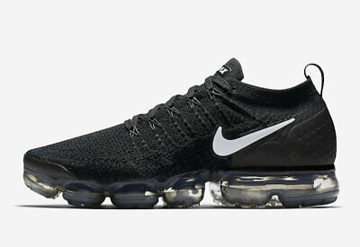 Nike Air VaporMax Flyknit Black 2.0 NEW & 100% Authentic 942842-001