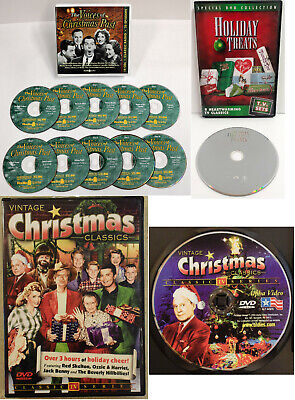 Christmas Old Time Radio 10 CDs + Holiday Treats + Classics Vol.1 - 2 DVDs