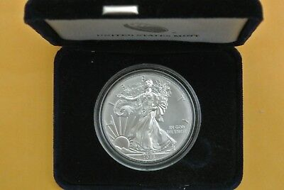 2015 1 oz. American Silver Eagle .999 Silver BU w/Capsule and Case
